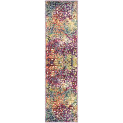 Safavieh Monaco Collection Doreen Abstract Runner Rug