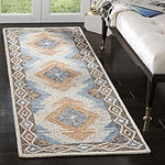 Safavieh Micro-Loop Collection Romeo Geometric Runner Rug