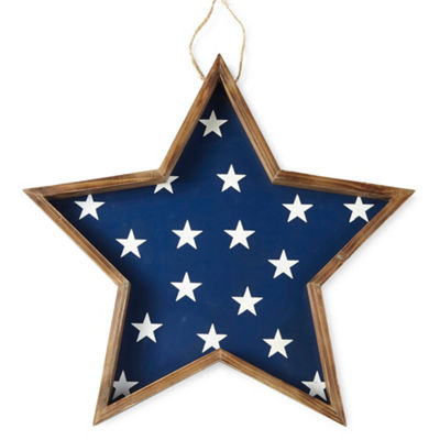 JCPenney Home Americana Large Star Wall Sign