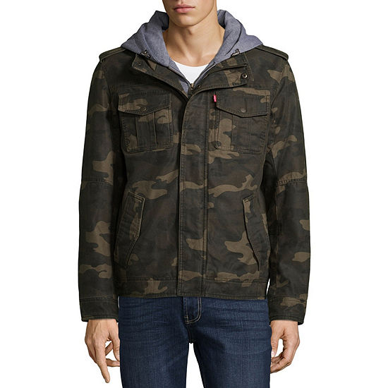 58752603f3768 Levi s® Hooded Cotton Trucker With Sherpa Lining - JCPenney
