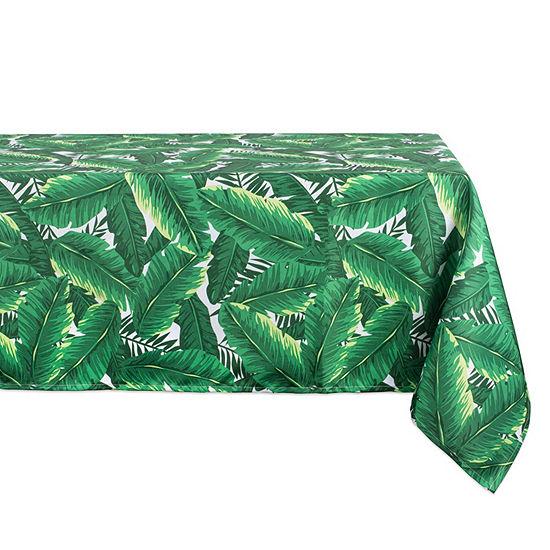 Design Imports Banana Leaf Umbrella Outdoor Tablecloth