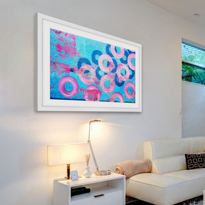 Pink Inflatables Framed Painting Print