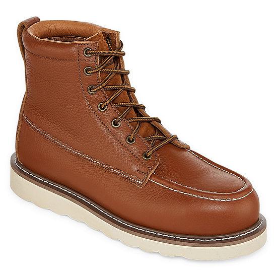 Big Mac Mens Turner Steel Toe Work Boots Lace-up