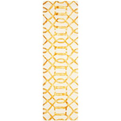 Safavieh Dip Dye Collection Diamond Geometric Runner Rug