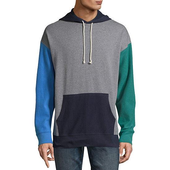 Arizona Mens Hooded Neck Long Sleeve Sweatshirt