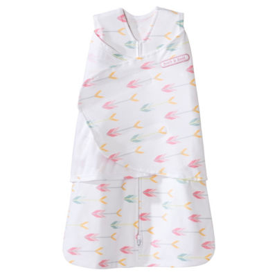 HALO Swaddle 100% Cotton - Pink Arrows