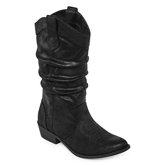Arizona Womens Molara Cowboy Boots Block Heel