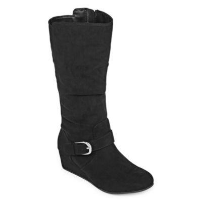Arizona Girls Celie Riding Boots Wedge Heels