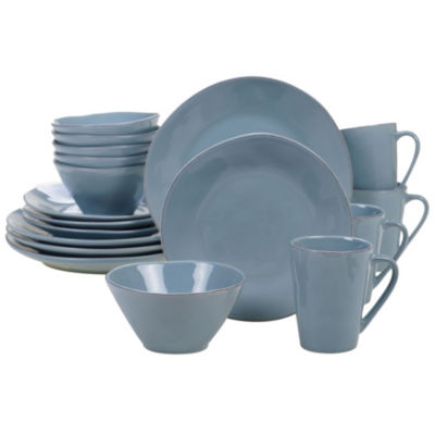 Certified International Harmony Teal 16-pc. Dinnerware Set