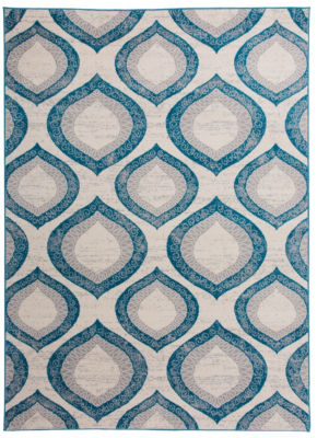 World Rug Gallery Modern Morroccan Design Geometric Area Rug