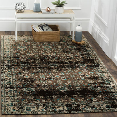 Safavieh Classic Vintage Collection Gino Oriental Square Area Rug