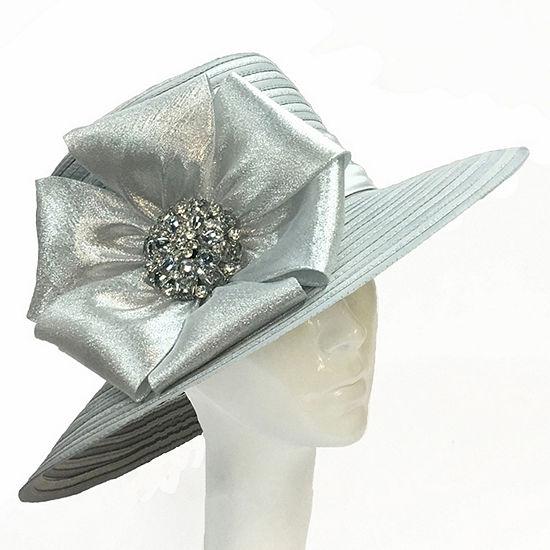 Whittall & Shon Large Bow Brim Derby Hat