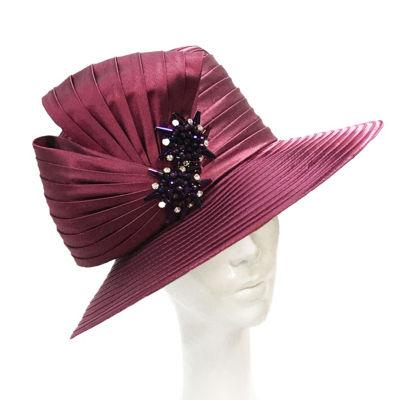 Whittall & Shon Medium Bow Brim Derby Hat