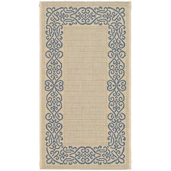 Safavieh Dara Oriental Rectangular Indoor/Outdoor Rugs