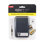Exact Fit™ RFID Security Wallet