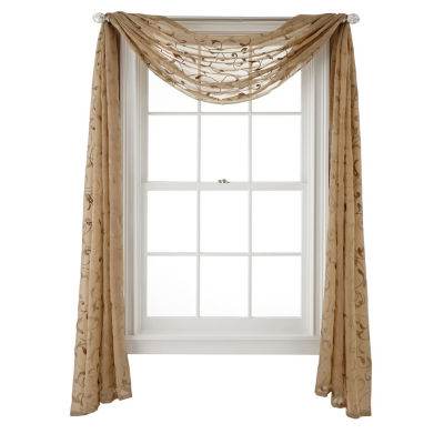 JCPenney Home Harmon Scarf Valance