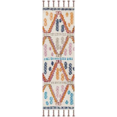 Safavieh Casablanca Collection Trenton Geometric Runner Rug