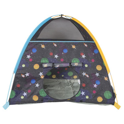 Pacific Play Tents Galaxy Dome Tent W/ Glow In TheDark Stars