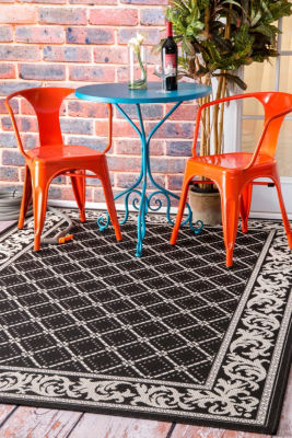 nuLoom Sammie Trellis Indoor/Outdoor Area Rug