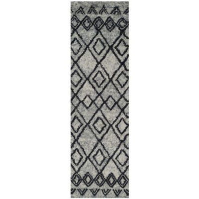 Safavieh Casablanca Collection Jordan Geometric Runner Rug