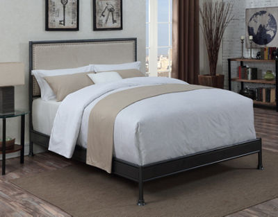 Home Meridian Industrial Bed