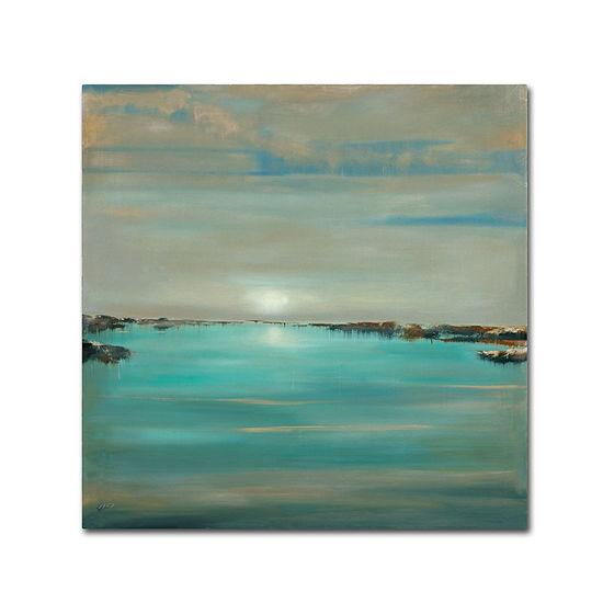 Trademark Fine Art Rio Blue Light Giclee Canvas Art