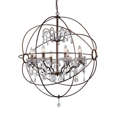 Warehouse Of Tiffany Edwards Antique Bronze 32-inch Chandelier