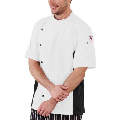 White Swan Five Star Chef Unisex Short Sleeve Chef Coat