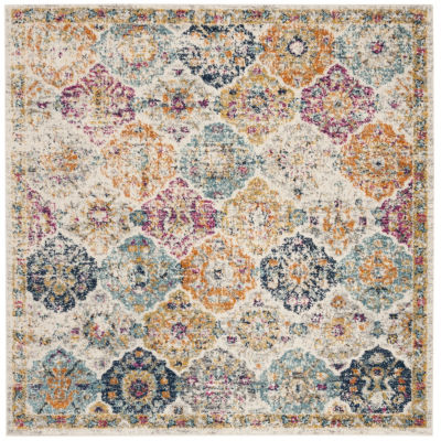Safavieh Madison Collection Sally Geometric Square Area Rug