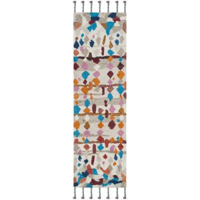 Safavieh Casablanca Collection Allycia Geometric Runner Rug