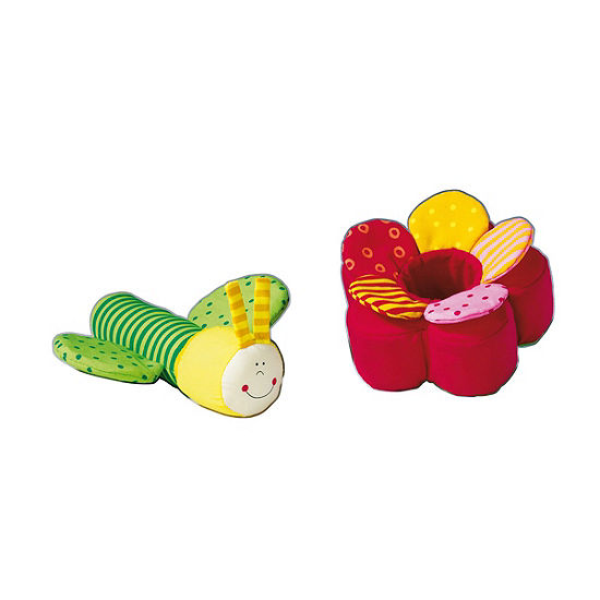 HABA Fidelia Flower Clutching Figure with Detachable Crinkly Petals