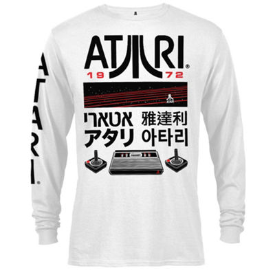 Atari Logo and Icon Graphic Tee