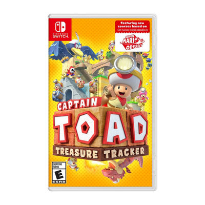 Nintendo Switch Captain Toad: Treasure Tracker Video Game