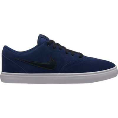 Nike Sb Check Solar Mens Skate Shoes Lace-up