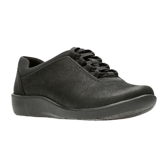 Clarks Womens Sillian Pine Slip-On Shoe Closed Toe