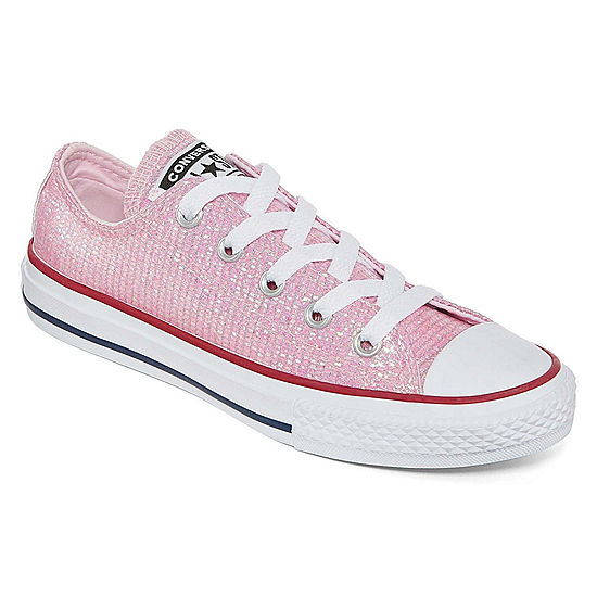 aed2c7fe8f76 Converse Chuck Taylor All Star Ox Lace-up Sneakers - Little Kid Big Kid  Girls - JCPenney