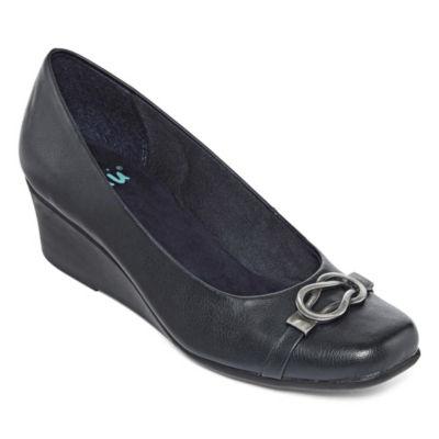 Yuu Womens Monica Slip-On Shoes Slip-on Round Toe