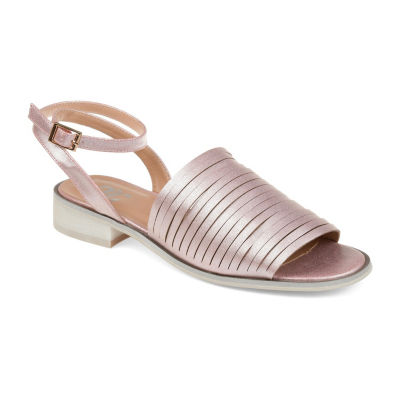 Journee Collection Jc Louise Womens Flat Sandals
