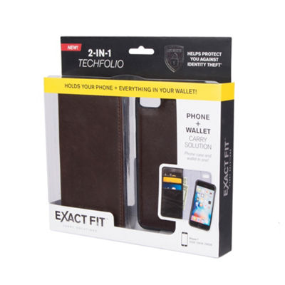Exact Fit RFID Magnetic Folio Phone Case Wallet