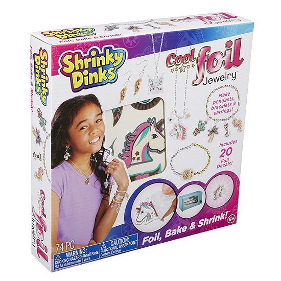 Shrinky Dinks Cool Foil Jewelry