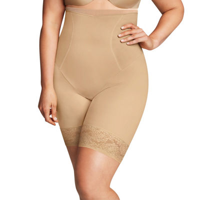 Maidenform Curvy Firm Foundations Hi-Waist Firm Control Thigh Slimmers - 1024j