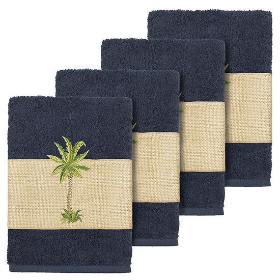 Linum Home Textiles 100% Turkish Cotton Colton Embellished Towel Collection