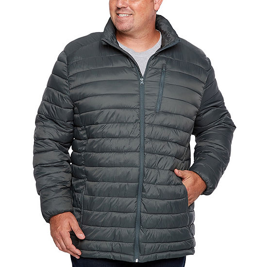 The Foundry Big & Tall Supply Co. Midweight Puffer Jacket - Big and Tall