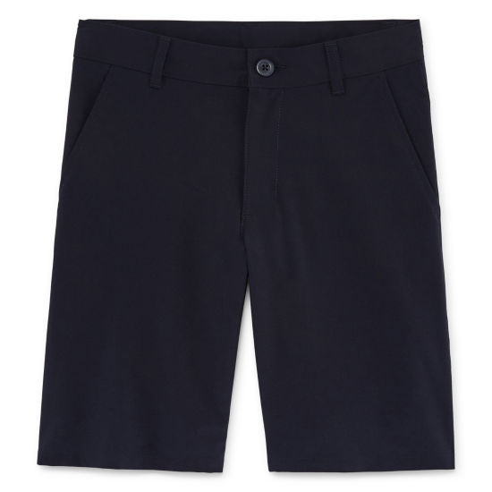 Izod Stretch Flat Front Performance Shorts Boys 4-20-Reg and Husky