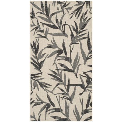 Safavieh Courtyard Collection Windsor Floral Indoor/Outdoor Area Rug