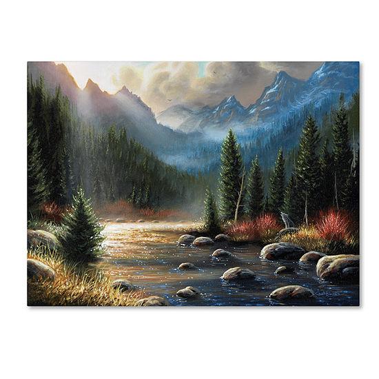 Trademark Fine Art Chuck Black The Calling Giclee Canvas Art