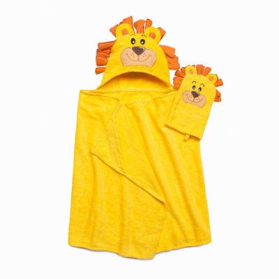 American Dawn Tub Time Tots Lion Hooded Towel