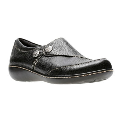 Clarks Womens Ashland Lane Slip-On Shoe Closed Toe