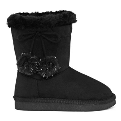 Okie Dokie Toddler Girls Lil Zenith Winter Boots Pull-on