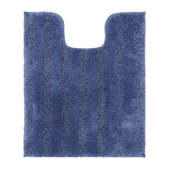 Mohawk Basic Contour Stripe Bath Rug